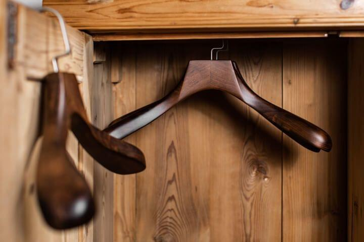 Tradition of closet clothes hangers
