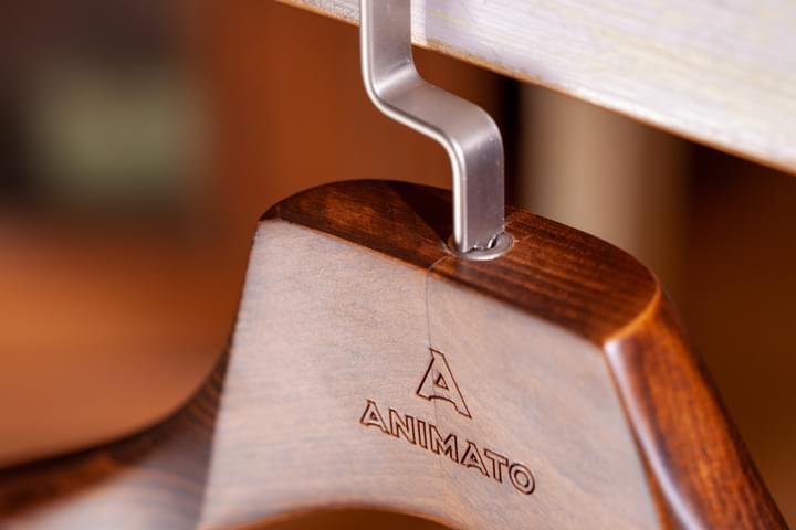 Engraved Jacket Hanger